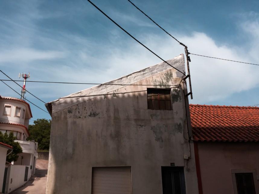 Maison délabrée de Mira de Aire