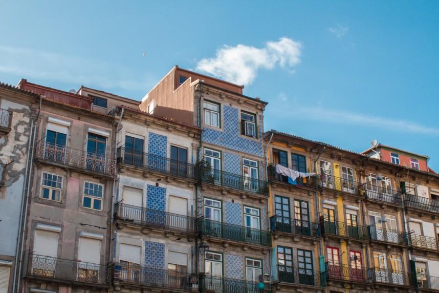 Maisons colorées portugaises