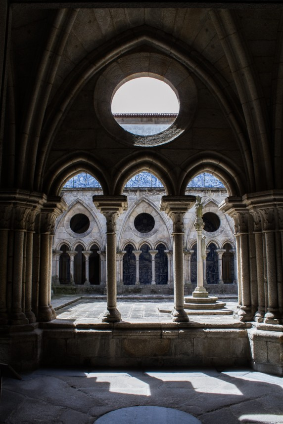 Voûtes de la cathédrale de Porto
