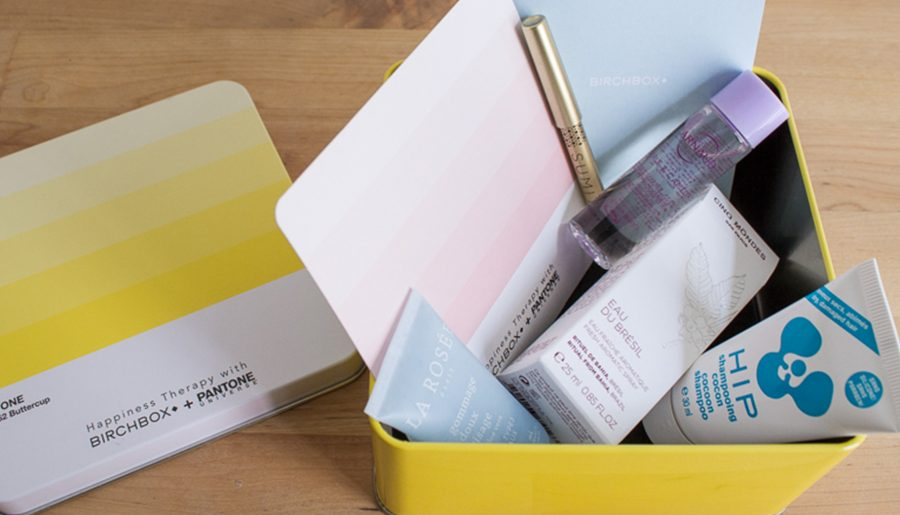 Birchbox X Pantone Happiness Therapy : le verdict